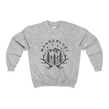 wanderlust heavy crewneck sweater (16 colours)