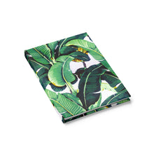 wild banana leaf journal