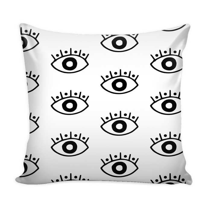 evil eye pillow cover 16 X 16
