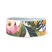 botanical pet bowl