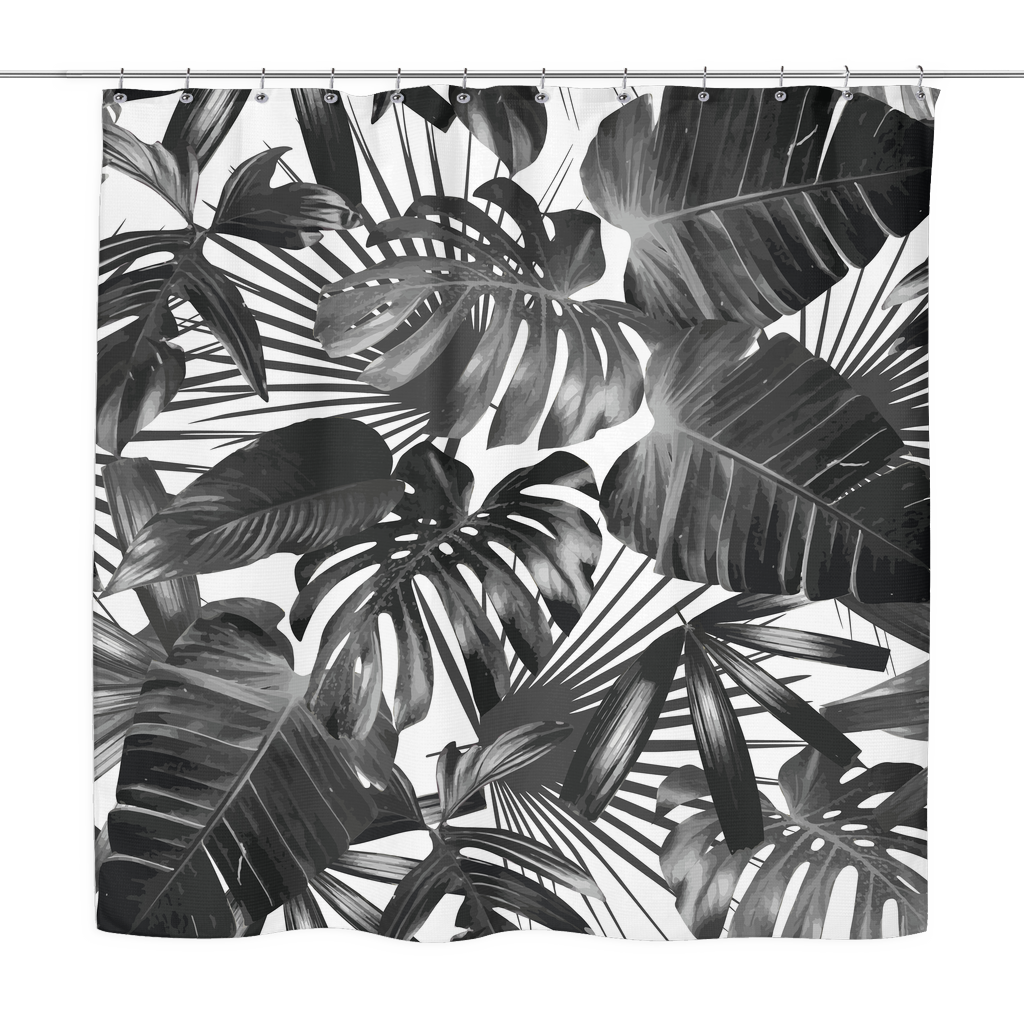 wild palm shower curtain