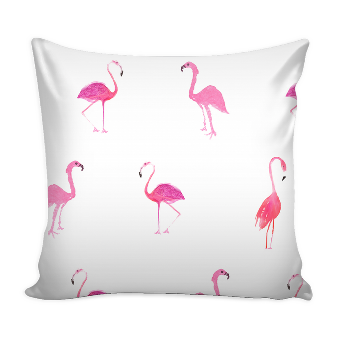 flamingo pillow cover 16 X 16