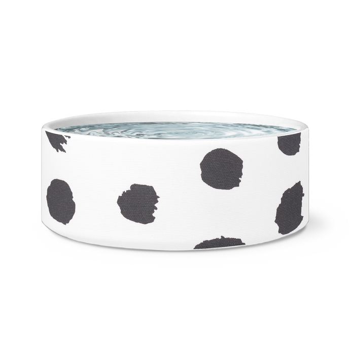 dots pet bowl
