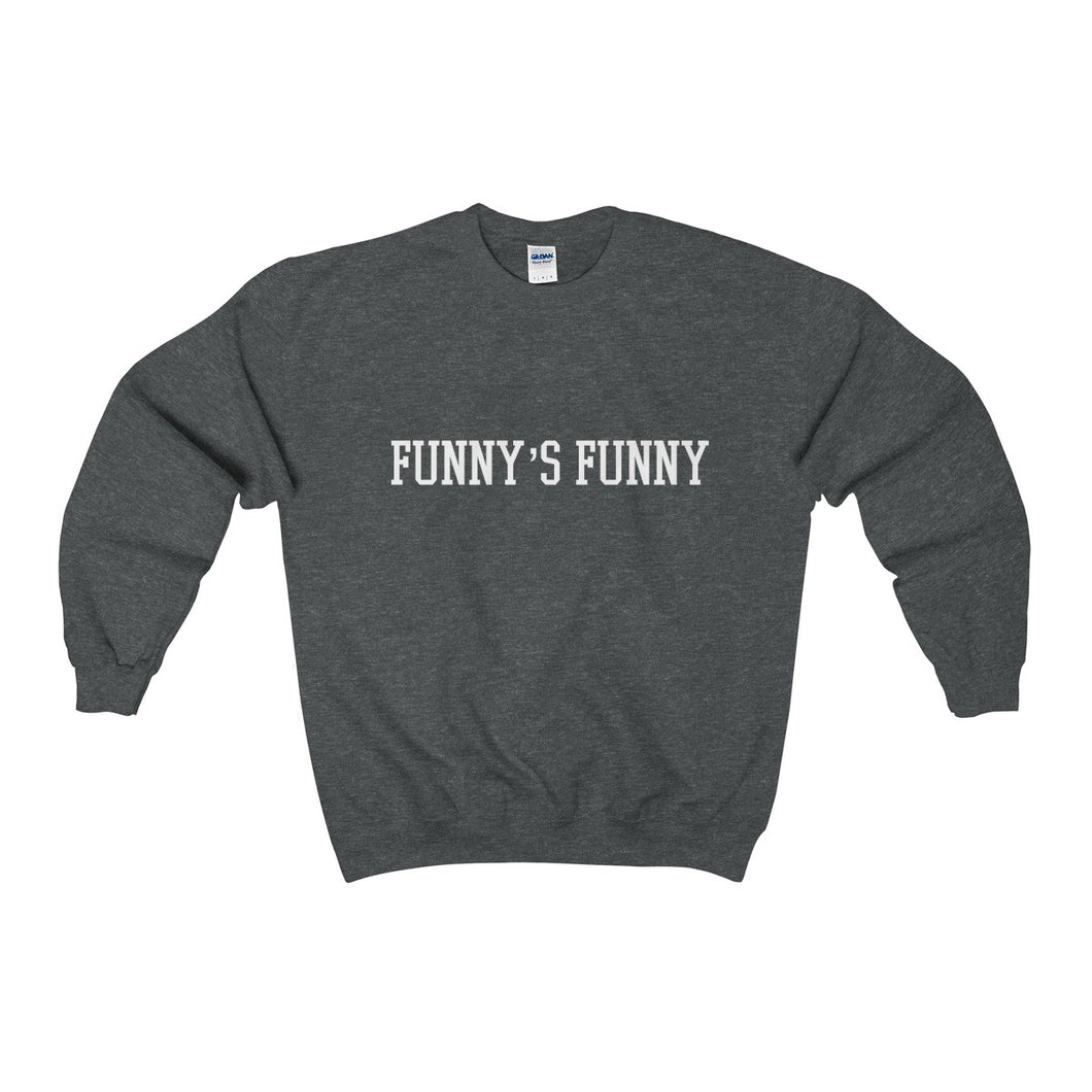 funny's funny heavy crewneck sweater