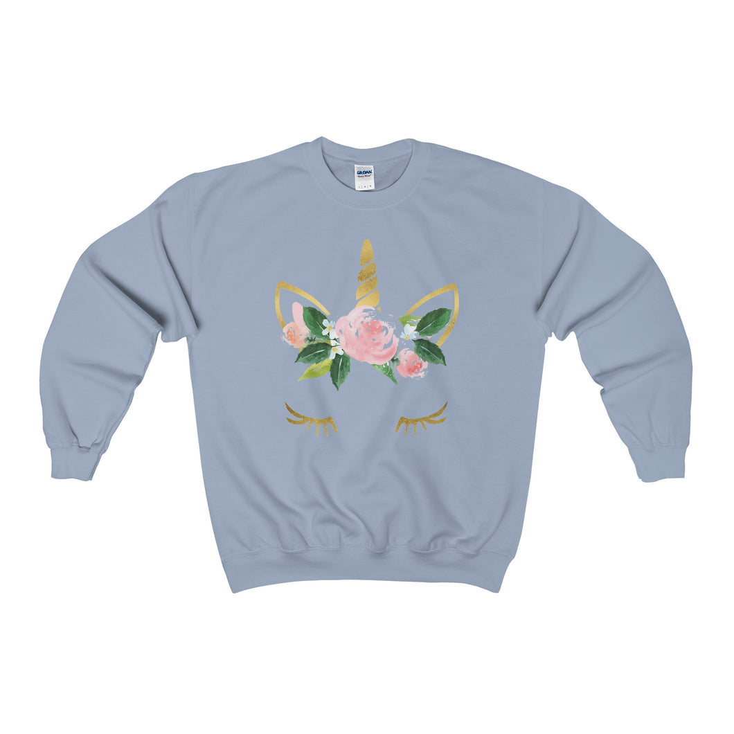 unicorn heavy crewneck sweater (more colours)