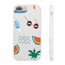 beach daze iphone case