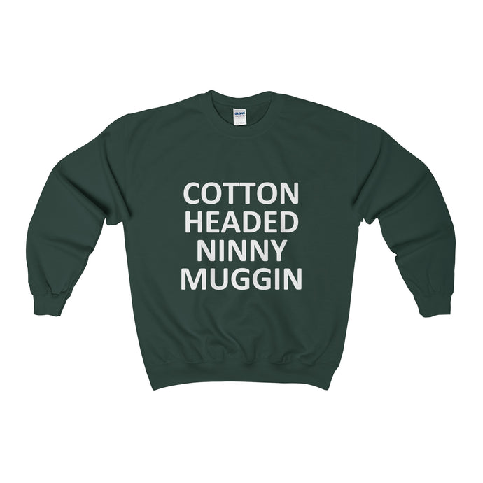 cotton headed ninny muggin  heavy crewneck sweater (more colours)