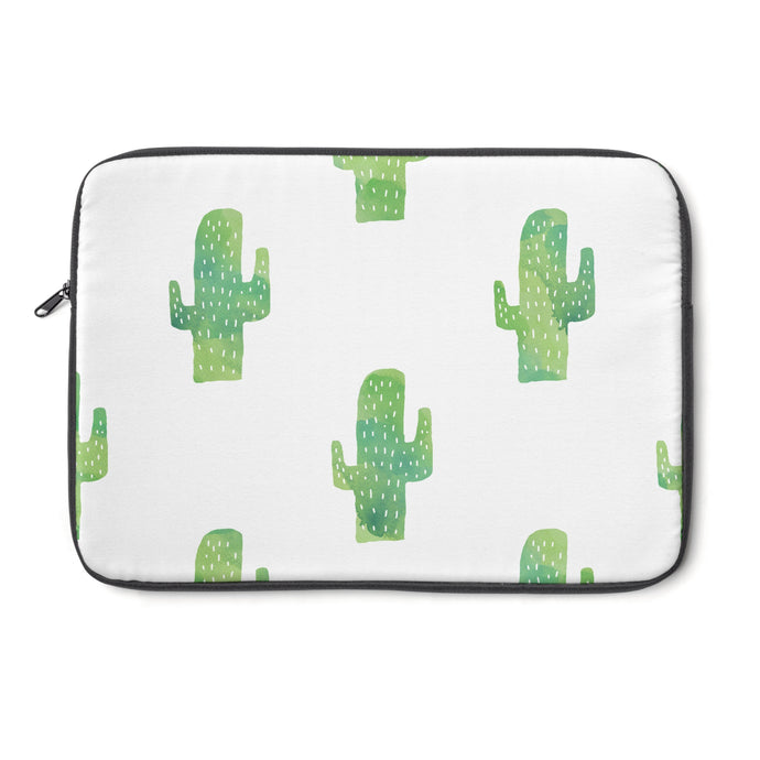 cactus print laptop sleeve
