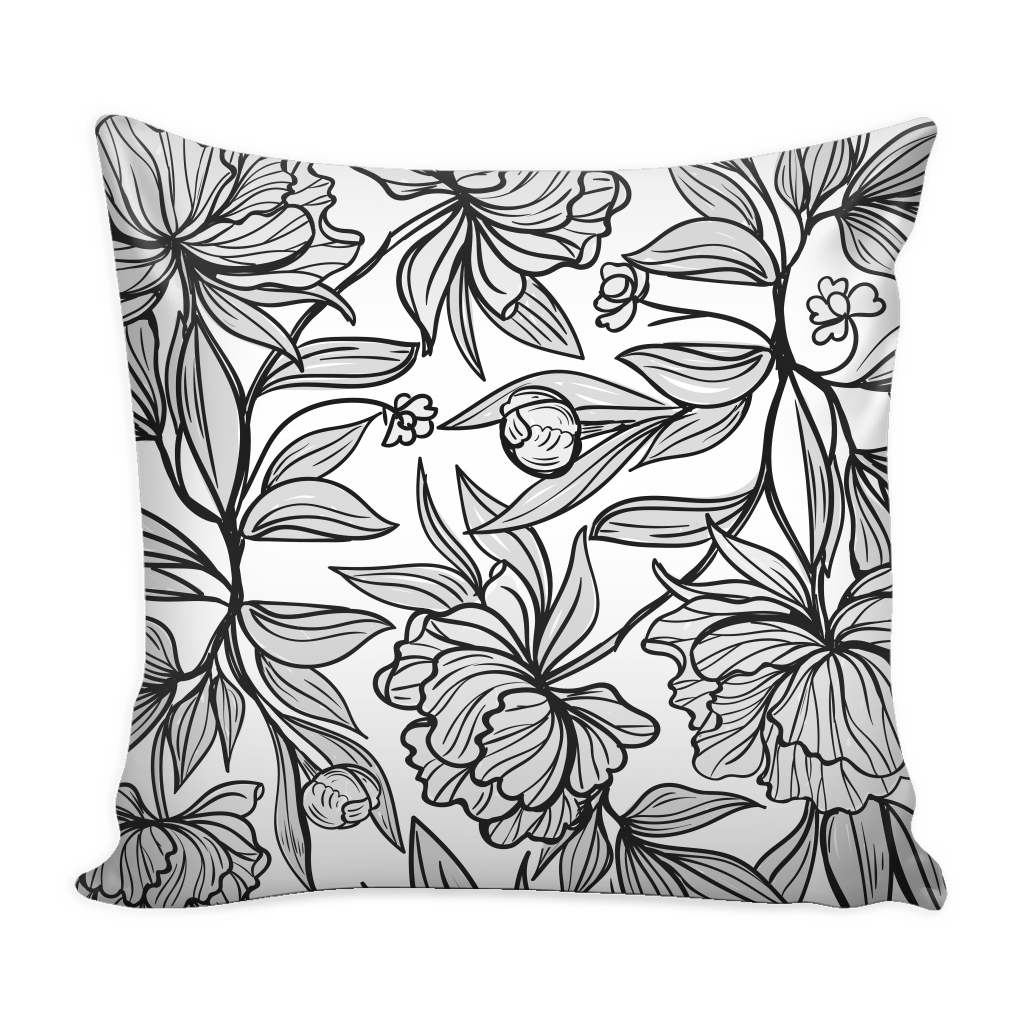 vintage floral pillow cover 16 X 16