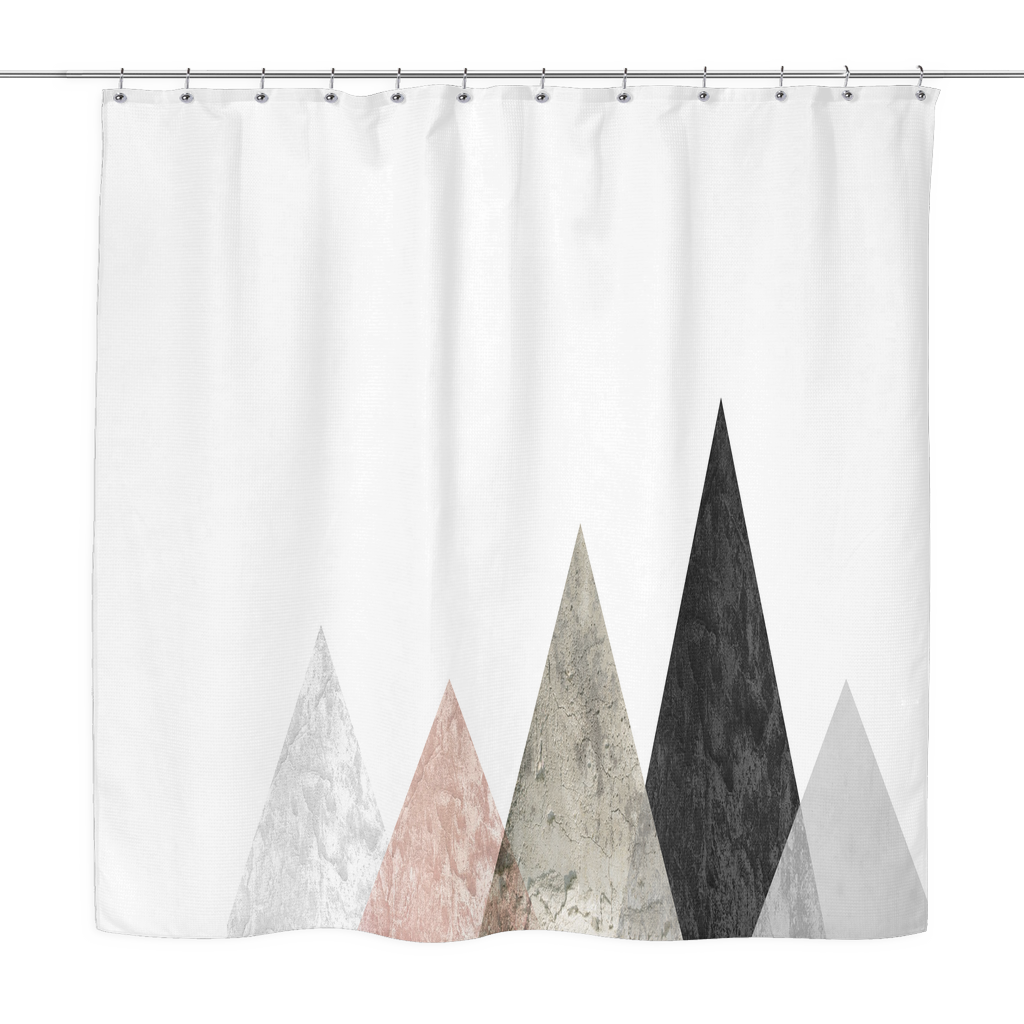 rose peaks shower curtain
