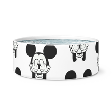 pissed mickey mouse bowl