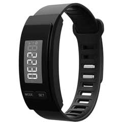 black fitness tracker from fitoru