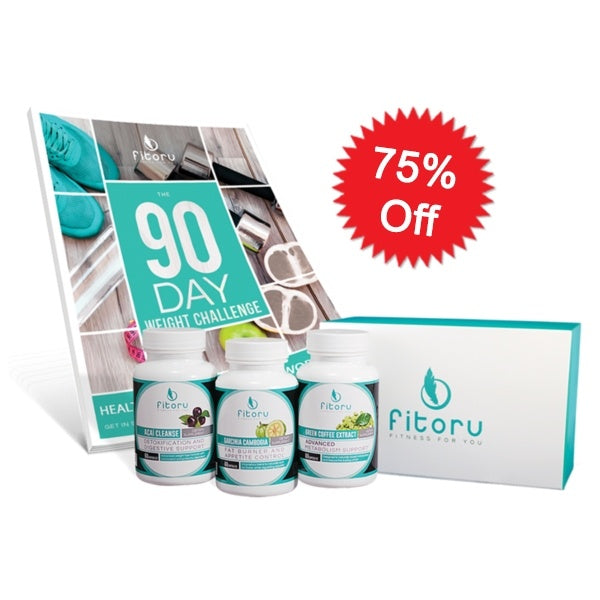 Fitoru Ultimate Weight Loss Combo 75% Off Special Offer + Free 90 Day Challenge Workbook (eBook)
