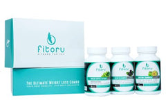Fitoru Ultimate Weight Loss Combo 60 Days Special Offer + Free 90 Day Challenge Workbook (eBook)