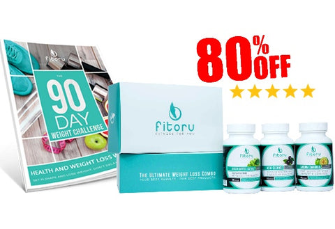 Fitoru Ultimate Weight Loss Combo 80% Off Special Offer + Free 90 Day Challenge Workbook (ebook)