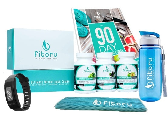 Fitoru Ultimate Weight Loss Combo Starter Kit