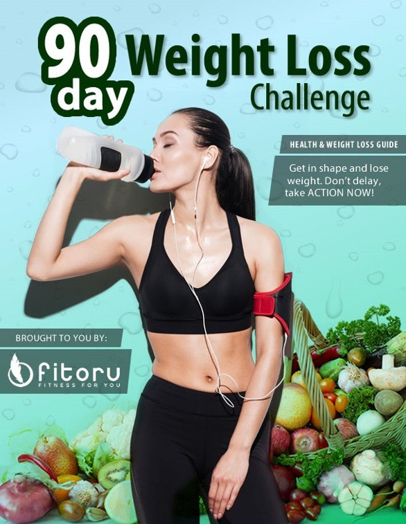 [Exclusive Product] 90 Day Weight Loss Challenge Guide