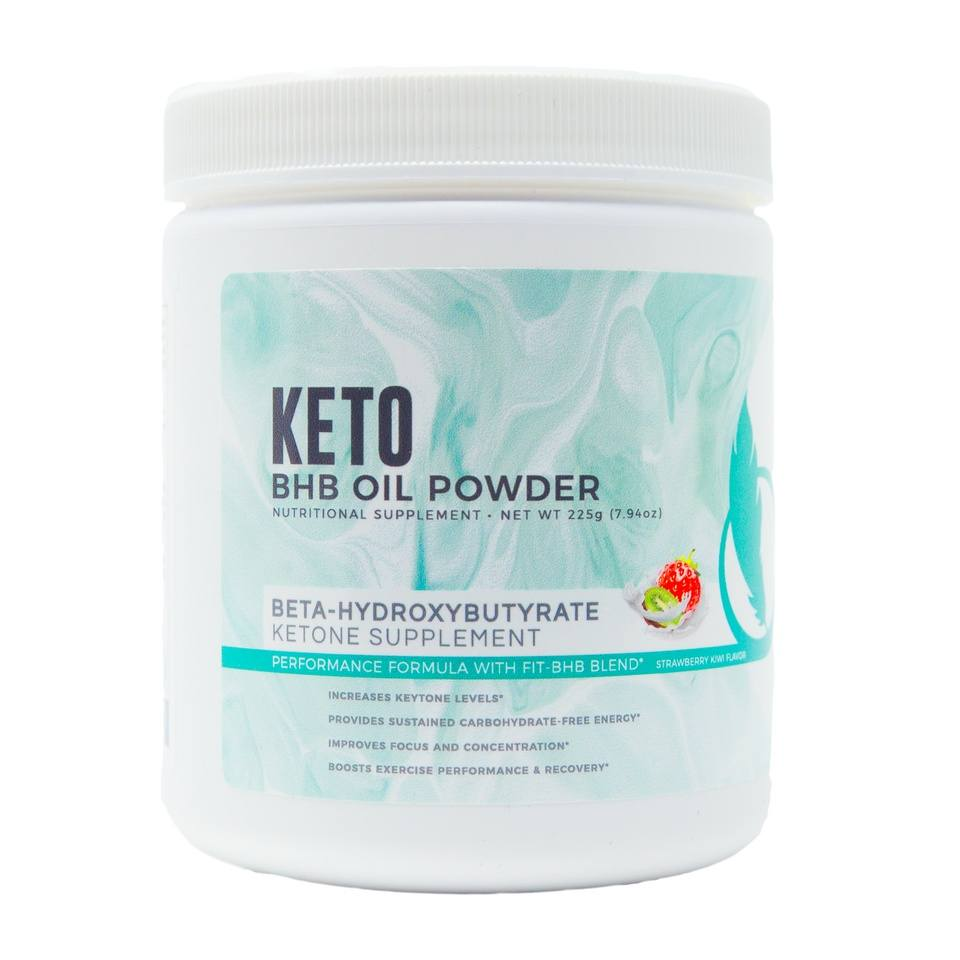 BHB Oil Powder - 1 Canister + FREE Top Tastiest Keto Recipes eCookbook