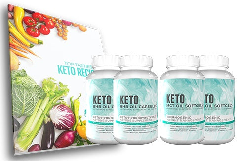 Fitoru Keto Premium Support Combo 60 Days Supply + Free Shipping + Top Tastiest Keto Recipe eCookbook