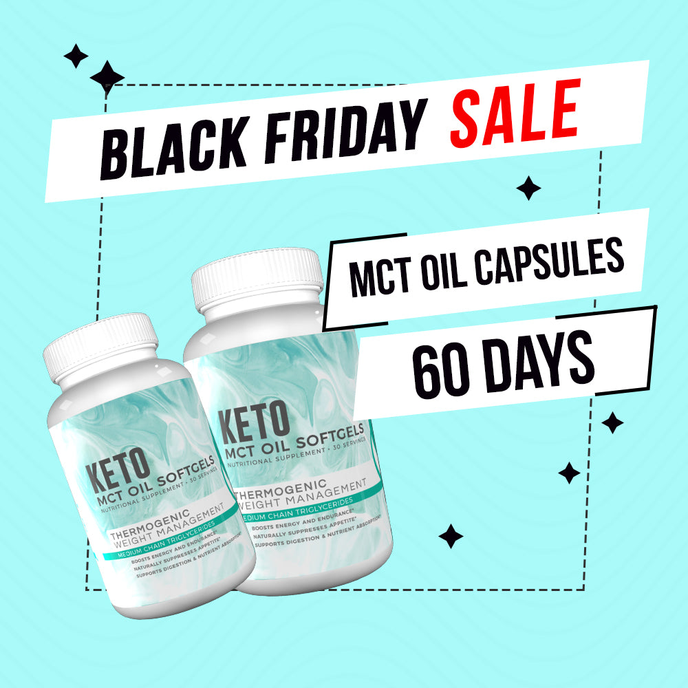 Black Friday Deal - MCT 60 Days + FREE Double Layer Towel, FREE Fitoru Bottle, FREE Towel FREE 90 Days Weight Loss Guide eBook