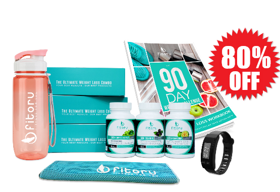 Fitoru Ultimate Weight Loss Combo Starter Kit - 90 Days Supply Special 80% off