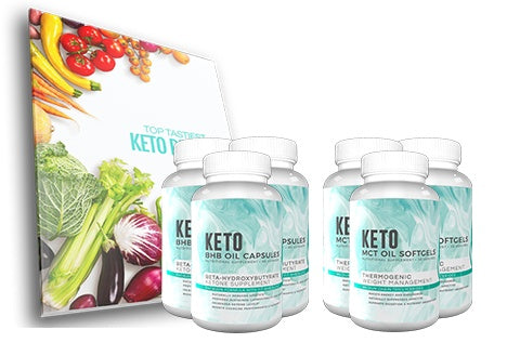 Fitoru Keto Premium Support Combo 90 Days Supply + FREE Shipping + Top Tastiest Keto Recipe eCookbook