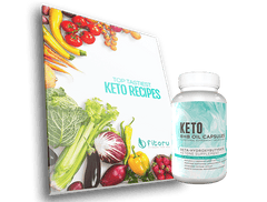 BHB Oil Capsules - 30 Days Supply + Top Tastiest Keto Recipes eCookbook
