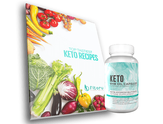 BHB Oil Capsules 50% Off - 30 Days Supply - Free Shipping + Top Tastiest Keto Recipes eCookbook