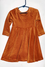 Infinity Dress - Corduroy Cinnamon - size 5T