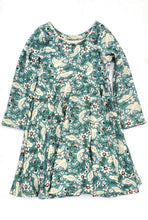Infinity Dress - Sweet Tweet - Organic Cotton Knit, sizes 9/12 months - 6 years