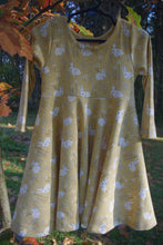 Infinity Dress - Bunnies - Organic Cotton Knit
