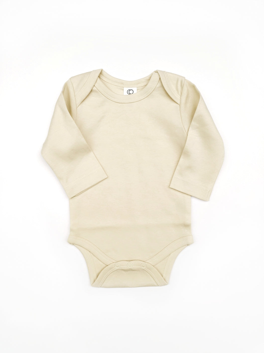 Happy Camper - Basic Bodysuit with Long Sleeves, sizes 0/3 months - 12/18 months