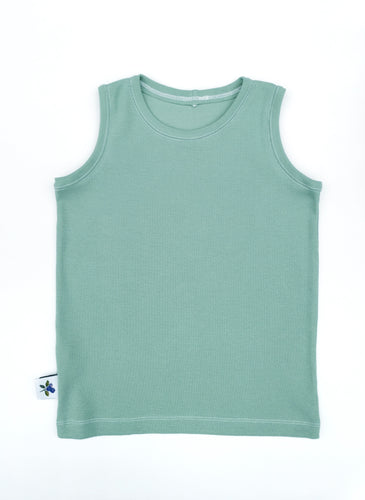 Day Hike - Rib knit Tank, sizes 12 months - 6/7