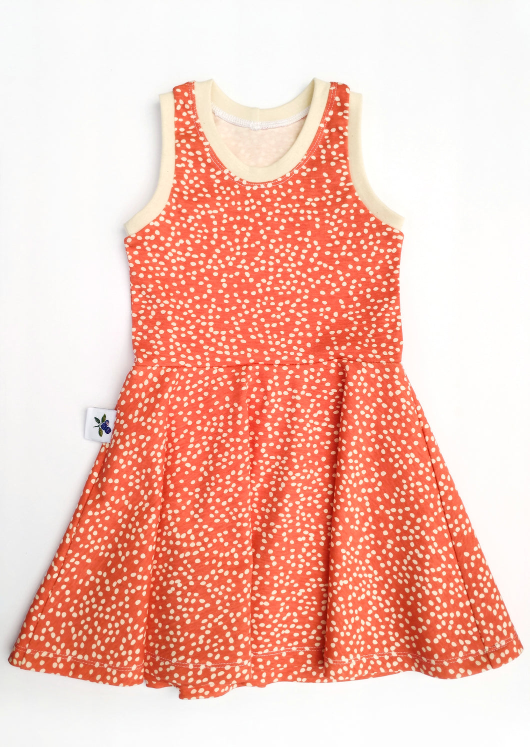 Carefree Dress - Coral, sizes 2T - 7