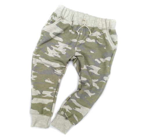 Joggers in Camo, size 18/24 months to 6