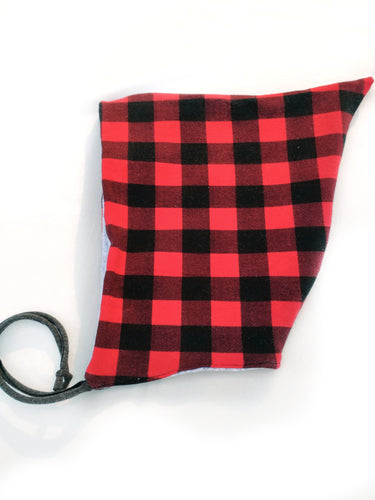 Pixie Hat - Buffalo Plaid - size 5T/6T