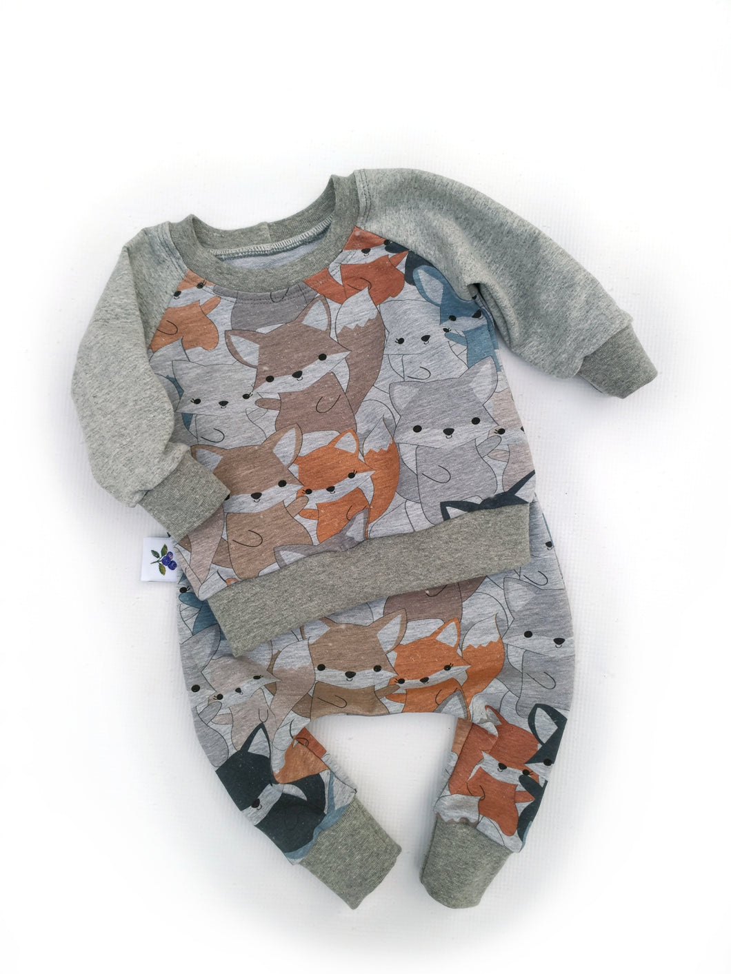 Harem Pants and Sweatshirt Set -  Cuties, sizes newborn to 9/12 months