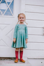 Infinity Dress - Tiny Steps - Organic Cotton Knit, sizes 9/12 months to 6 years