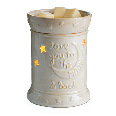 Electric Wax Warmer - Love you to the moon