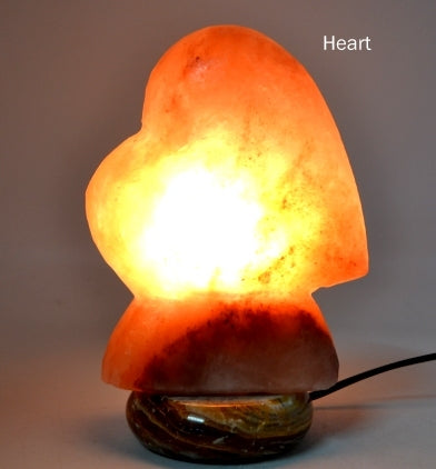 Himalayan Salt Lamp - Heart