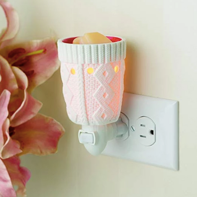 Mini Pluggable Wax Warmer Holiday Stocking