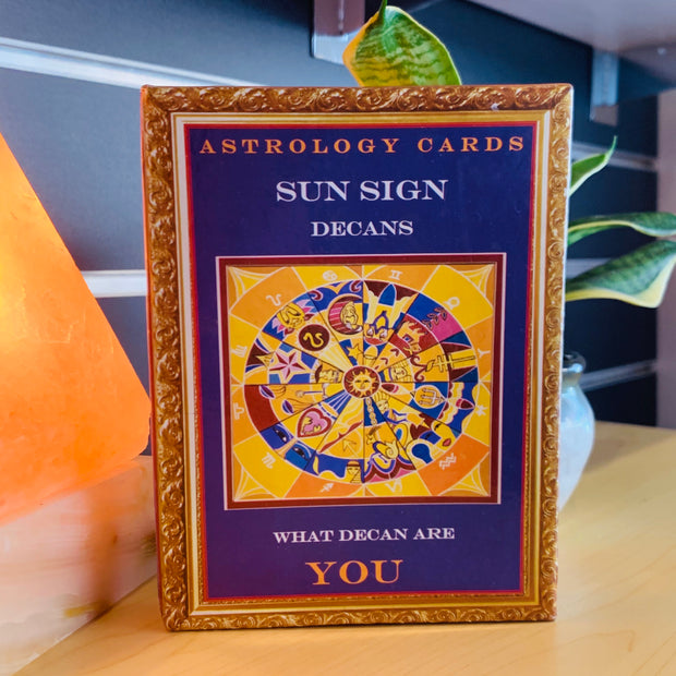 Sun Sign Decans - Astrology Cards