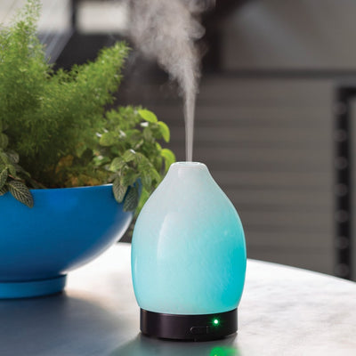 Ultrasonic Essential Oil Diffuser - Moonstone
