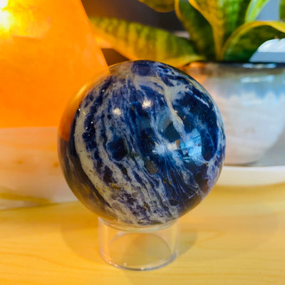Sodalite Crystal Sphere - #SO-SP01