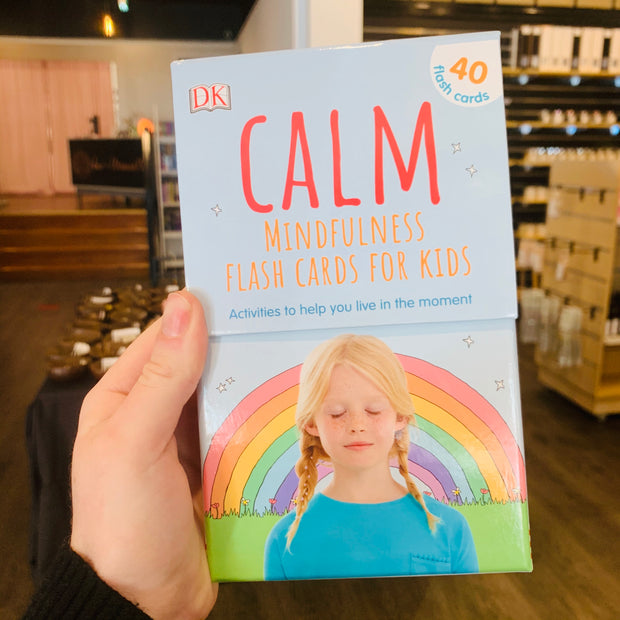 Calm Mindfulness flash cards for kids
