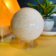 Pink Moonstone Sphere #PM-SP01