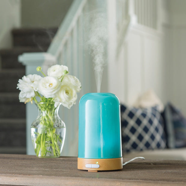 Ultrasonic Essential Oil Diffuser - Aqua Glass