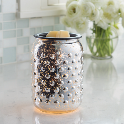 Electric Wax Warmer - Mercury Glass