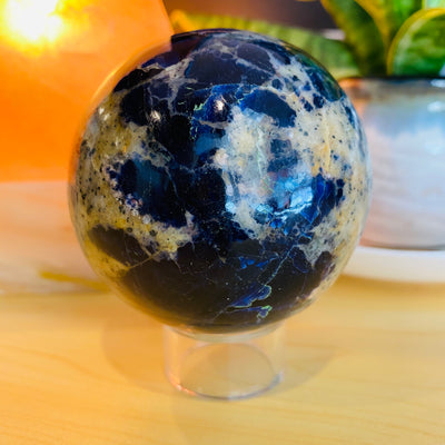 Sodalite Crystal Sphere - #SO-SP02