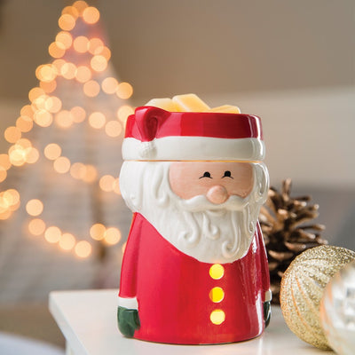 Electric Wax Warmer Red Santa Claus